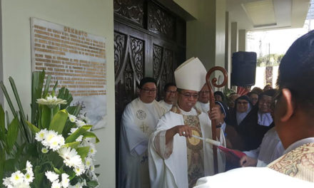 St. Therese chapel declared Iba diocese's first shrine