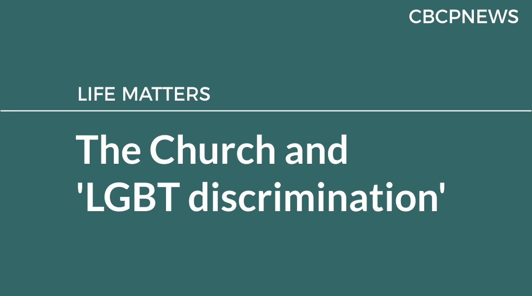 The Church and 'LGBT discrimination'
