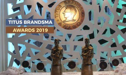 2019 Titus Brandsma awardees bared