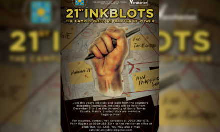 UST to hold 21st Inkblots journalism fellowship