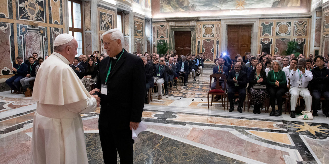 Christians are called to serve Christ in the poor, pope says