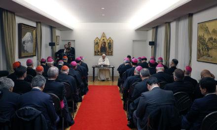In Japan, Pope calls himself a 'missionary pilgrim'
