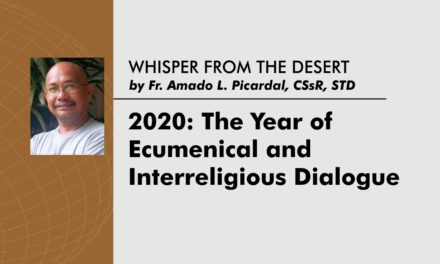 2020: The Year of Ecumenical and  Interreligious Dialogue