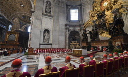 Remember the final judgement, Pope Francis says at Mass for recently deceased bishops