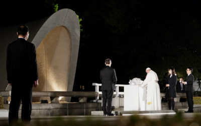Pope Francis in Hiroshima: 'Never again war'