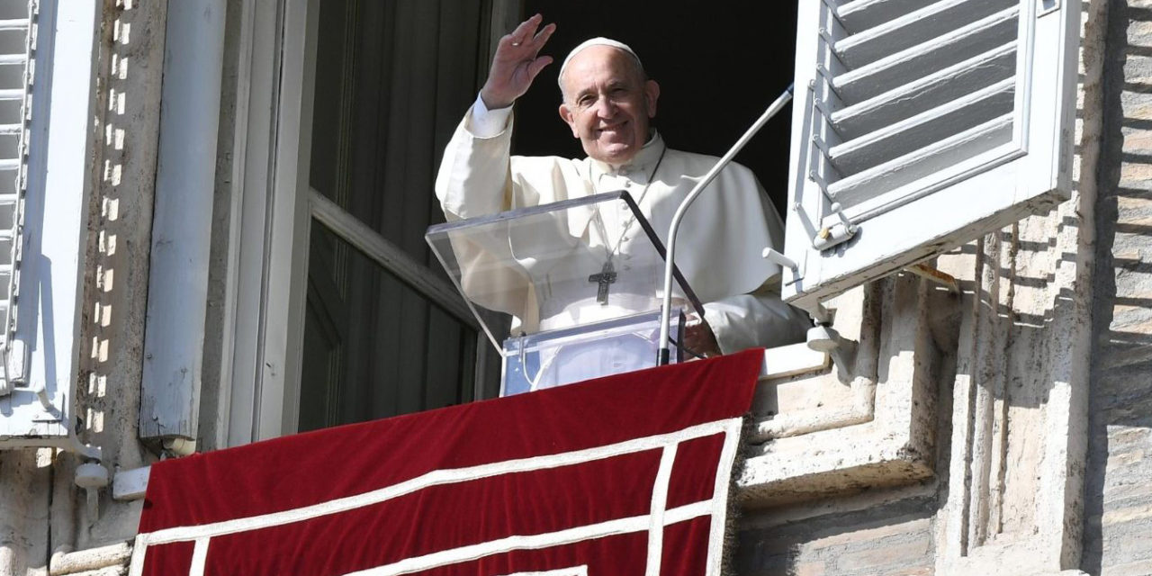 The saints show that real people can be holy, Pope Francis says