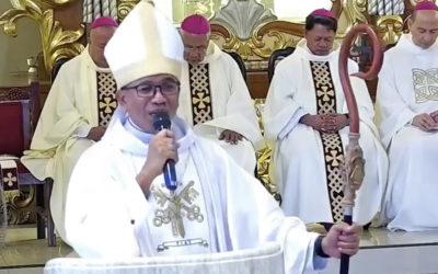 Bishop Dialogo assumes leadership of Sorsogon diocese