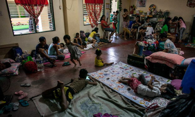 'Tisoy' makes churches open doors to evacuees