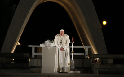 World needs peacemakers, not empty words, pope says in message