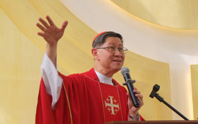 Christmas is not about gifts, bonuses — Cardinal Tagle