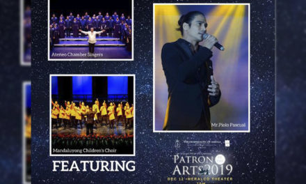 'Patron of the Arts' benefit concert slated at Meralco Theater on Dec. 12