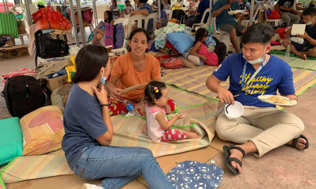 Cardinal Rosales thanks public for aid to Taal evacuees