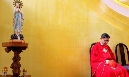 Cardinal Tagle bids farewell to his hometown Imus