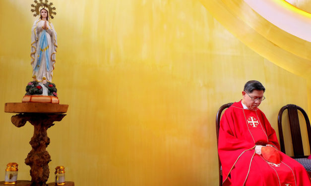 Cardinal Tagle bids farewell to his hometown Imus