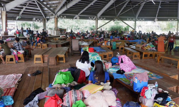 Church appeals for solidarity for Taal evacuees