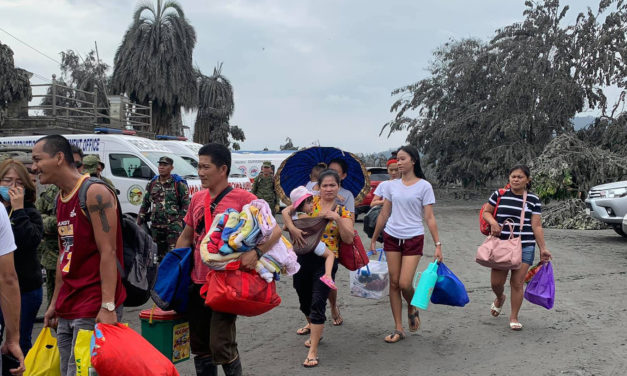 Lipa prelate calls for prayers,   aid amid volcano unrest