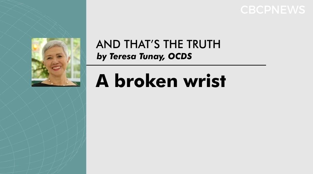A broken wrist