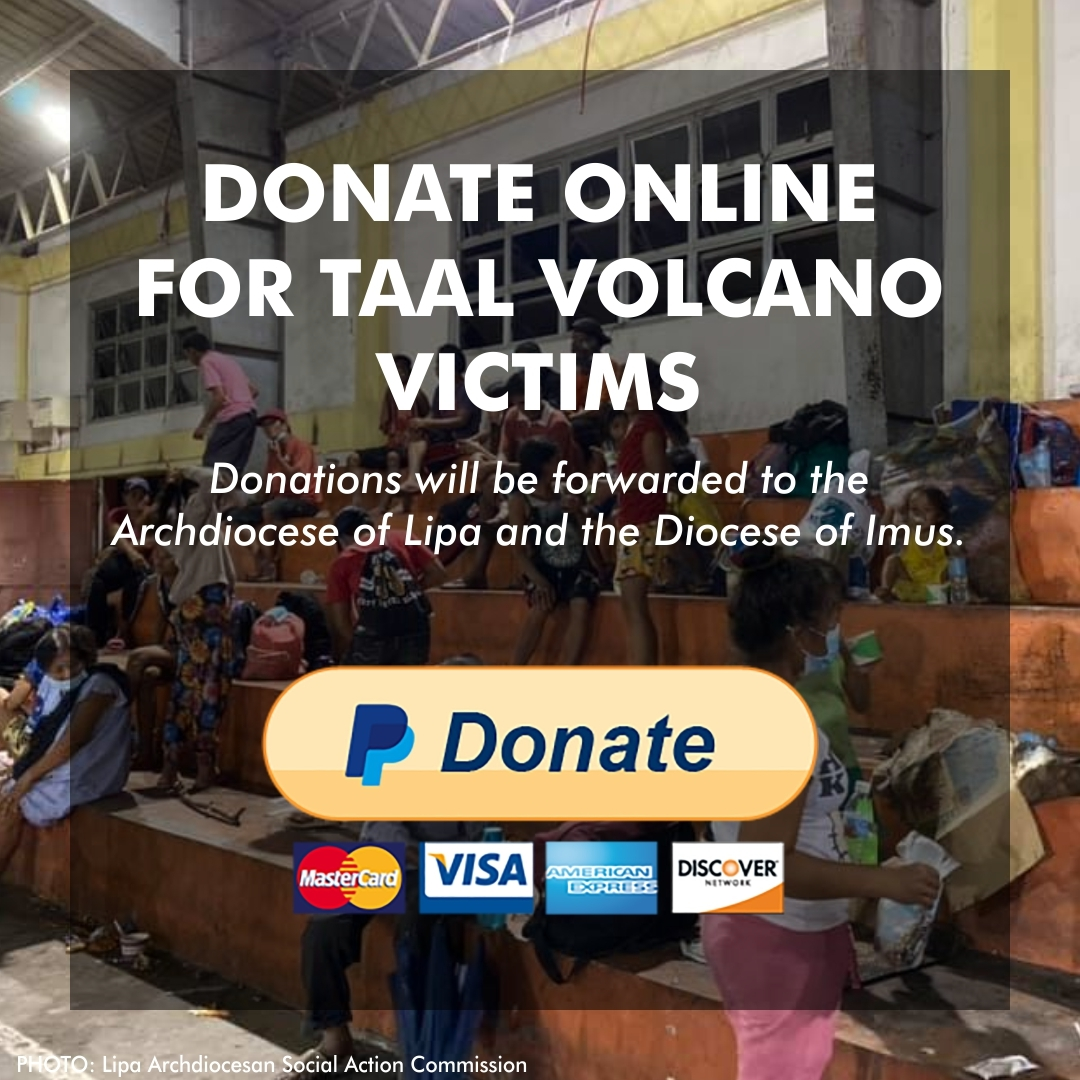 Donate Online for TAAL Volcano Victims