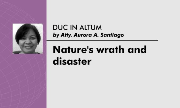 Nature's wrath and disaster