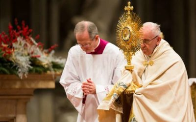 On New Year's Eve, Pope Francis calls listening an act of love