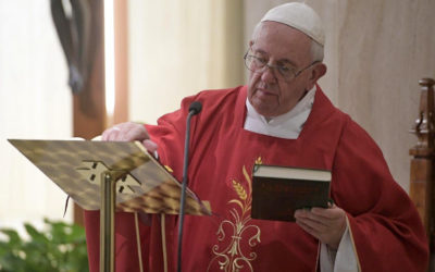 Pope Francis condemns clerics who engage in simony