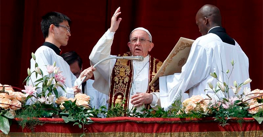 Pope Francis' Easter Message 2017
