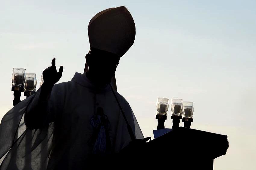 Bishop Santos delivers homily at WACOM closing Mass