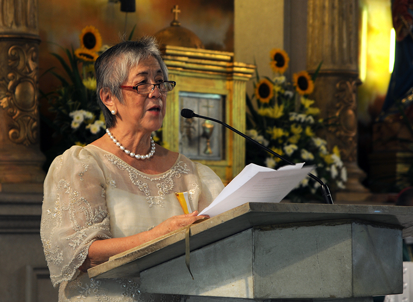 Church advocate for women's rights dies