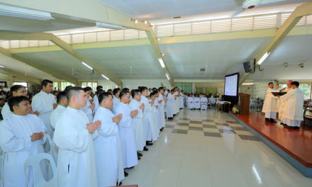 Soon-to-be priests for Mindanao