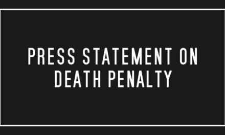 Press Statement on Death Penalty