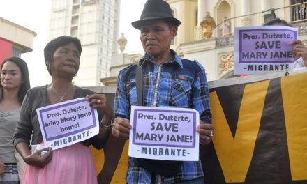 Bishop dismayed after CA stops Mary Jane Veloso's deposition