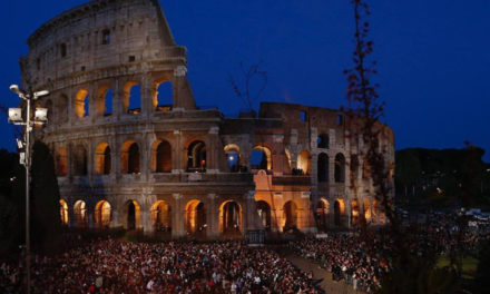 Pope leads Way of the Cross in Rome