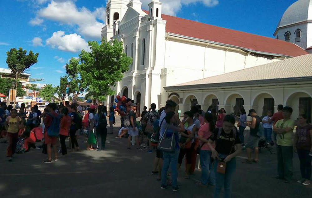 Batangas basilica temporarily closed due to quake damage