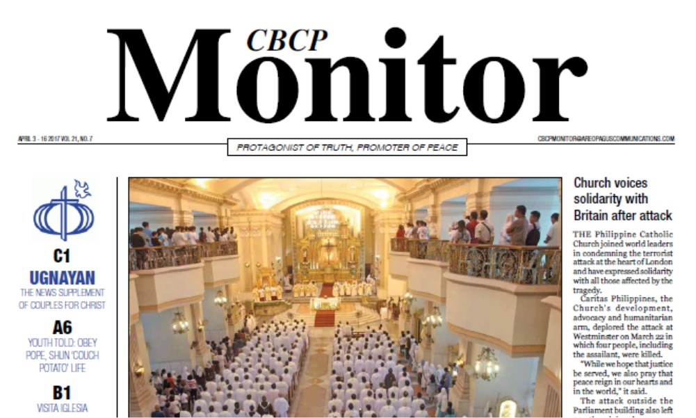 CBCP Monitor Vol 21 No 7