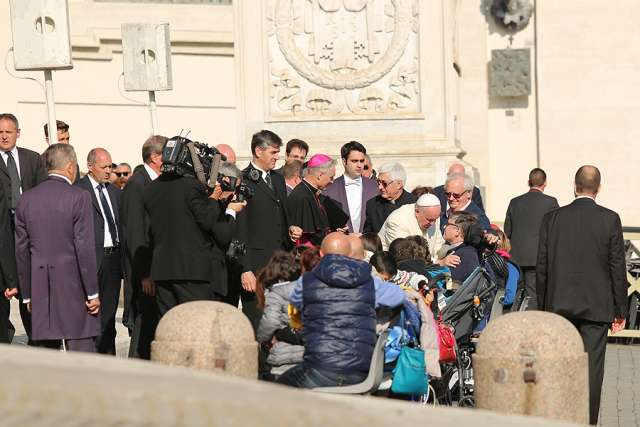 Pope donates rent for beach serving people with disabilities