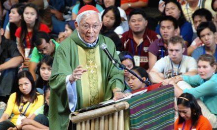Church and gov't should collaborate, not clash— Cardinal Rosales