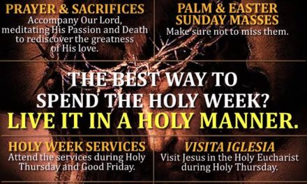 Holy Week reminder: Live piety not 'pamahiin'