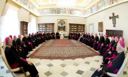 Go out now, share the Gospel, get messy, pope tells Quebec bishops