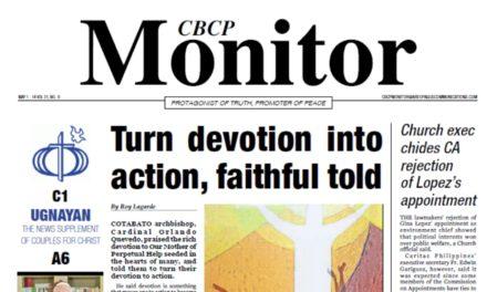 CBCP Monitor Vol 21 No 9