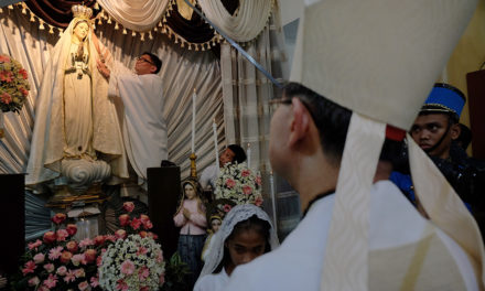 Church marks Fatima centenary