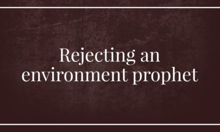 Rejecting an environment prophet