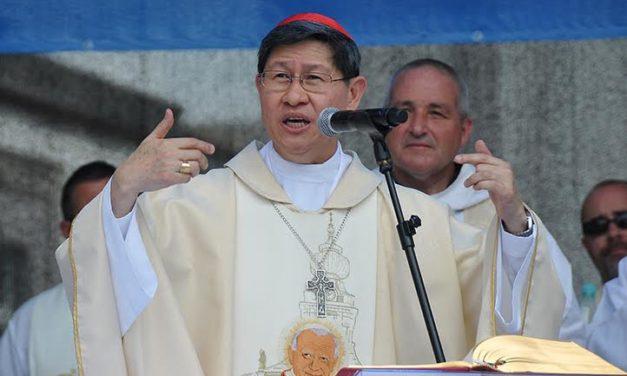 Cardinal Tagle at exorcism confab: God's love trumps evil