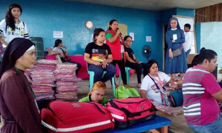 Iligan diocese raises concerns at evacuation centers