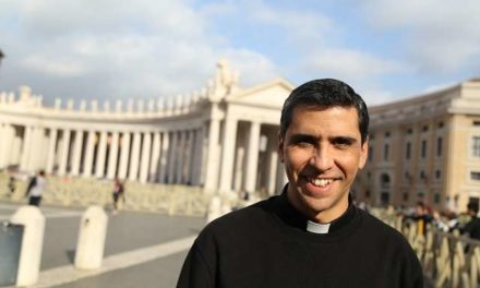 Pope Francis: I am always joyful when I see young priests