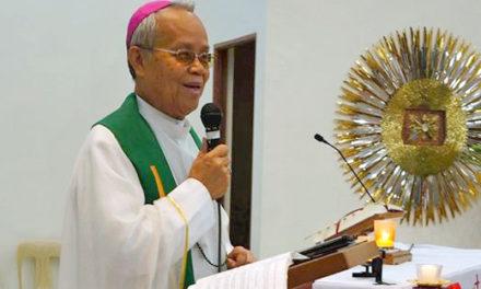 Military Bishop Leopoldo Tumulak dies at 72