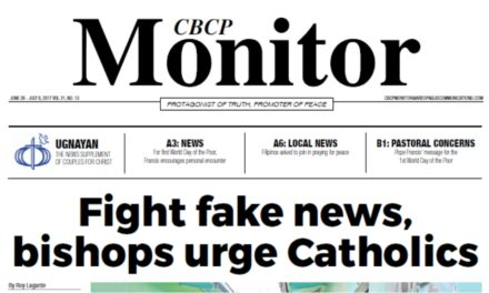 CBCP Monitor Vol 21 No 13