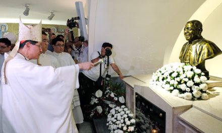 12th death anniversary of Cardinal Sin