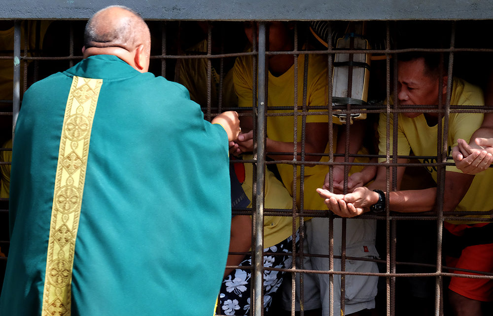 Surigao diocese brings Year of the Parish to prison