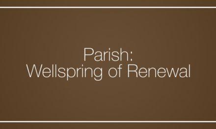 Parish: Wellspring of Renewal