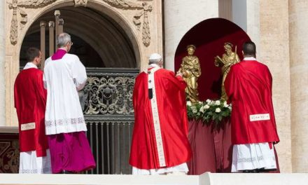 Peter and Paul are the columns on whom the Church rests, Pope recalls